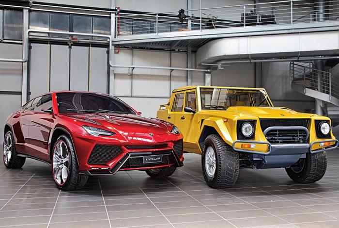 Lamborghini-SUVs