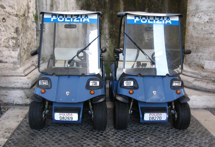 Ламборгини для полиции Ватикана