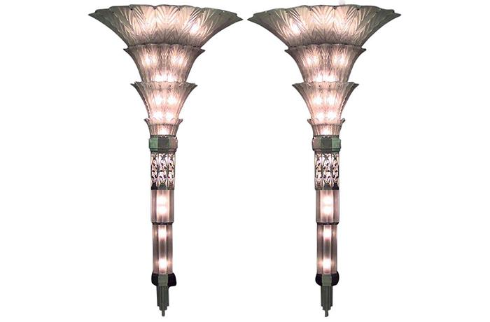 Настенные светильники Sabino в стиле арт-деко