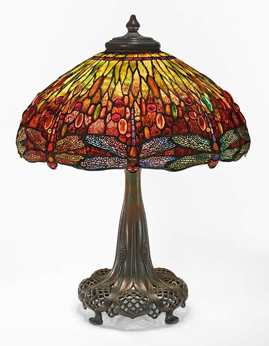 Настольная лампа «Стрекоза» от Tiffany