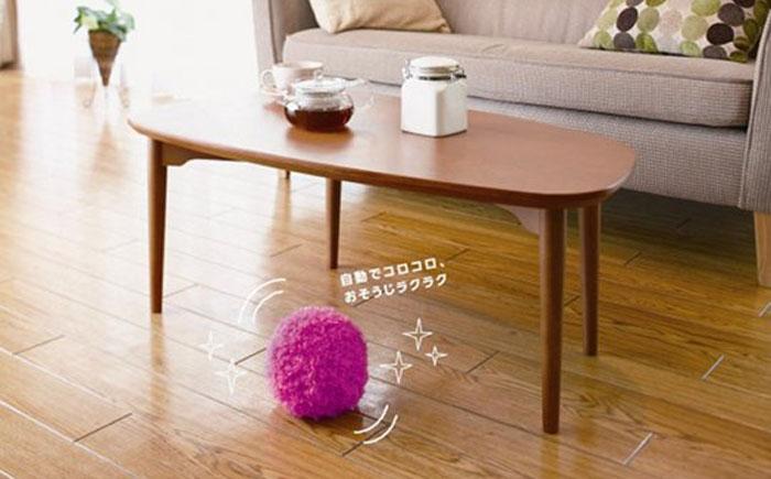 Мохнатый мячик для пыли