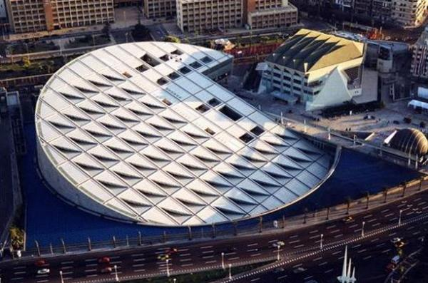 Новая Александрийская библиотека, Египет