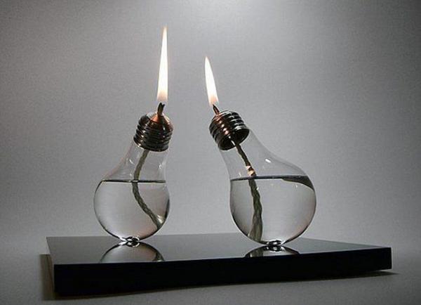 Современная керосиновая лампа