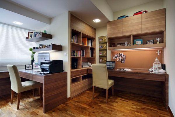 Интерьер домашнего офиса от  Jess Koh