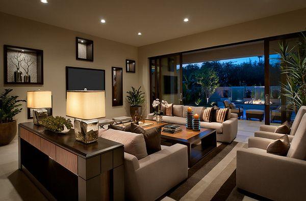 Интерьер гостиной от Ownby Design