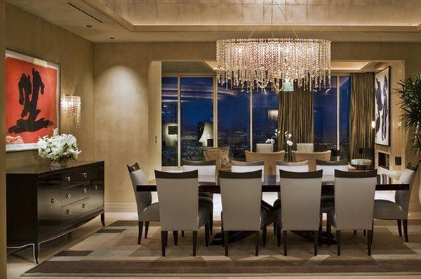Интерьер столовой от Willman Interiors