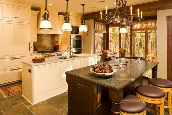 Интерьер кухни от Baker Court Interiors