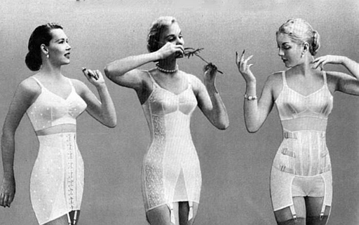 Корректирующий пояс был популярен в 20-60-х годах