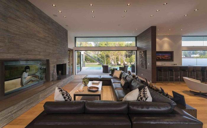 Гостиная от Whipple Russell Architects
