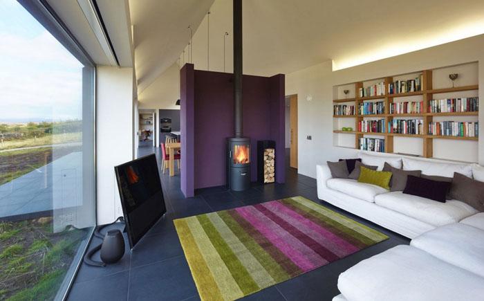Гостиная от шотландской студии Dualchas Architects