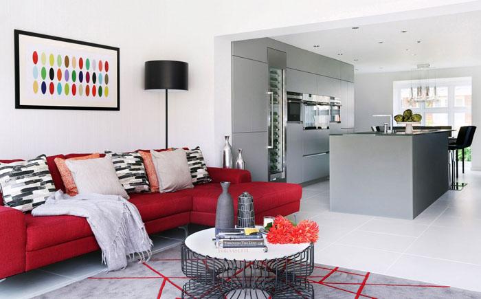 Небольшая гостиная от LLI Design