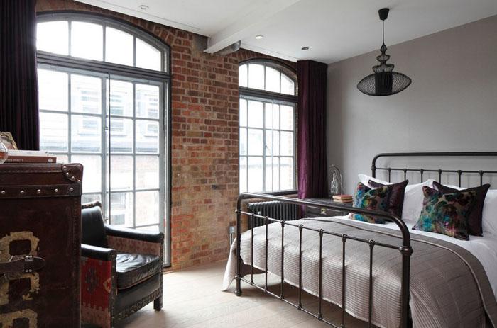 Интерьер спальни от Oliver Burns