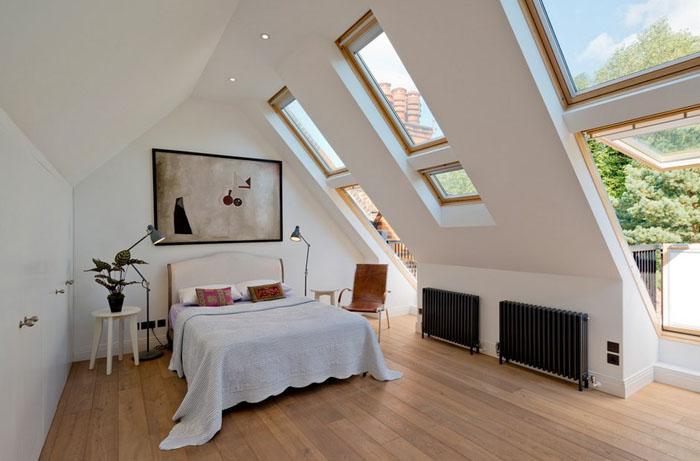Интерьер спальни от DDWH Architects