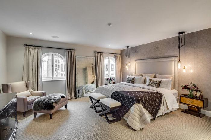 Интерьер спальни от Barlow & Barlow Design