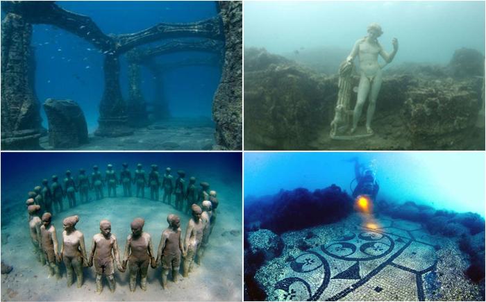 10 затонувших городов Древнего мира