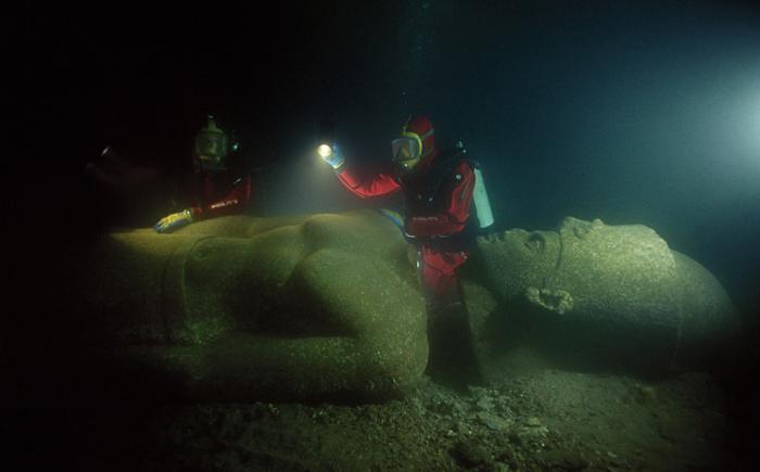 Тронис - Гераклион, Египет