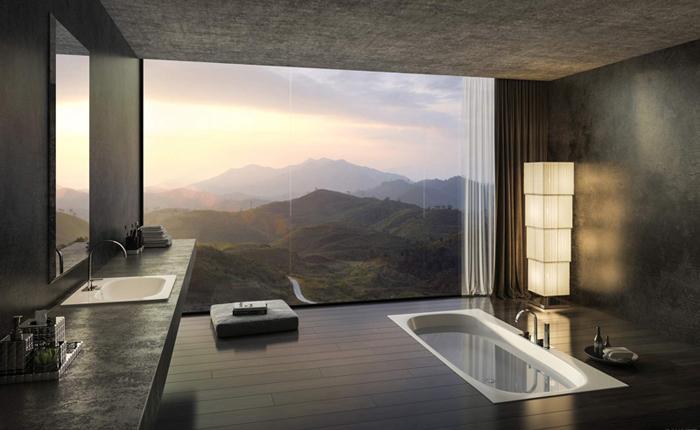 Углублённая ванна