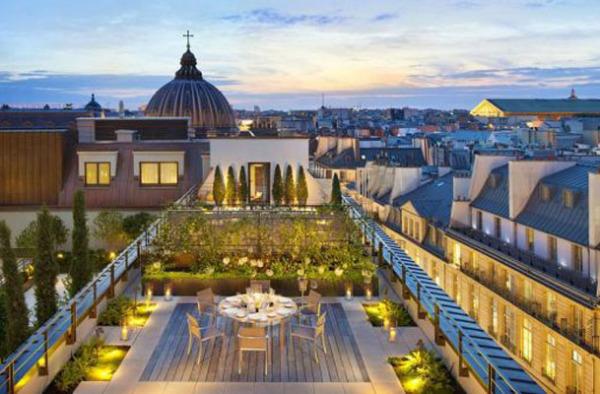 Отель Mandarin Oriental, Париж