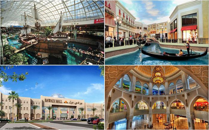 10 самых роскошных торговых центров в мире