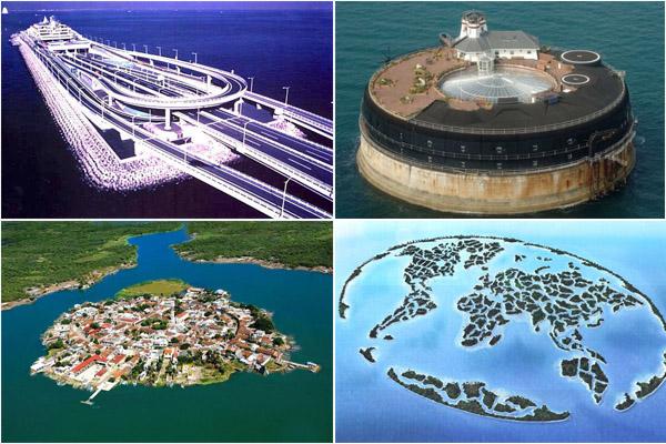 Самые невероятные рукотворные острова в мире