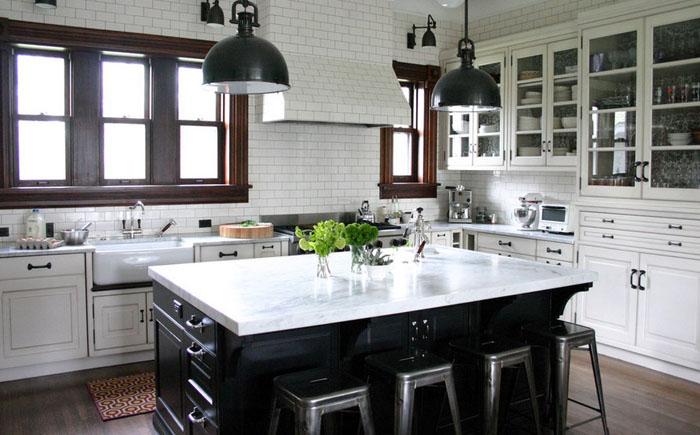 Интерьер кухни от Rebekah Zaveloff ¦ KitchenLab