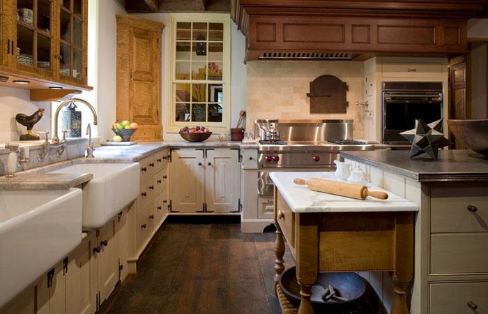 Интерьер кухни от eter Zimmerman Architects