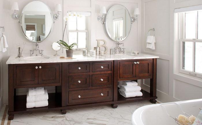 Интерьер ванной от Chalet