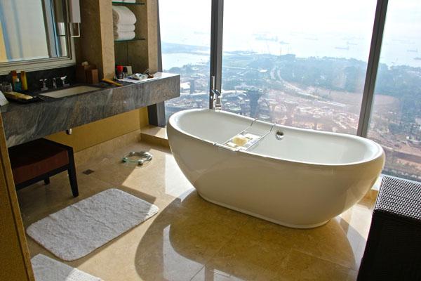 Marina Bay Sands: ванная комната