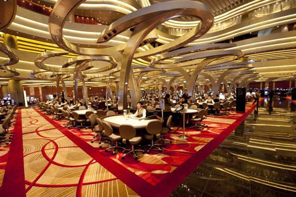 Отель «Марина Бэй Сэндс» : казино