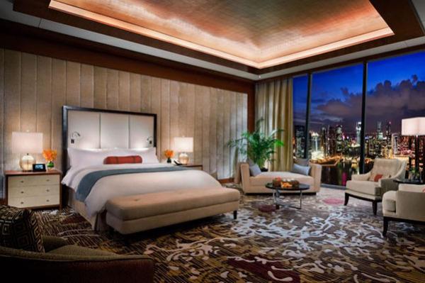 Marina Bay Sands: отельный номер