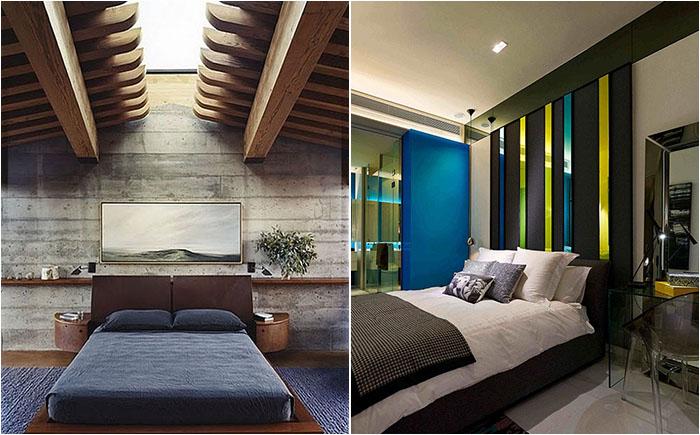 30 стильных мужских спален от лучших дизайнеров мира