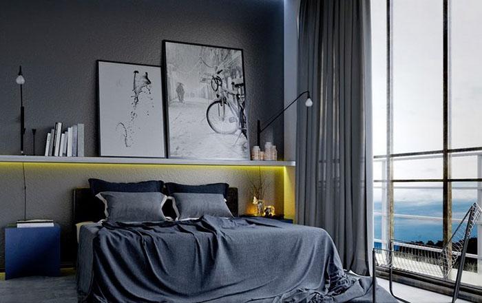 Интерьер спальни от Саимира Брахо