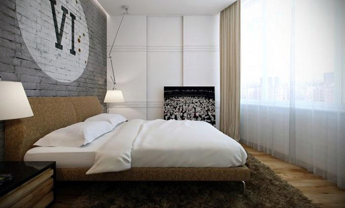 Дизайн мужской комнаты фото