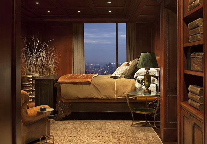 Интерьер спальни от Greenauer Design Group