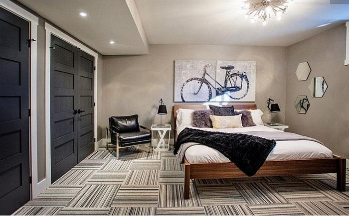 Интерьер спальни от компании Madison Taylor Design