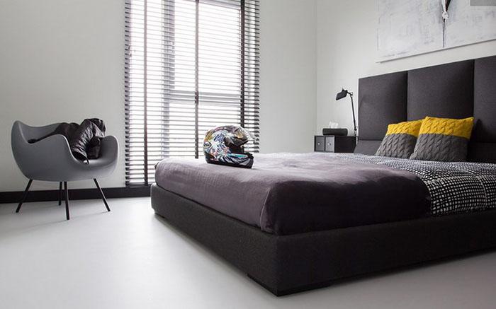 Интерьер спальни от студии Kasia Orwat