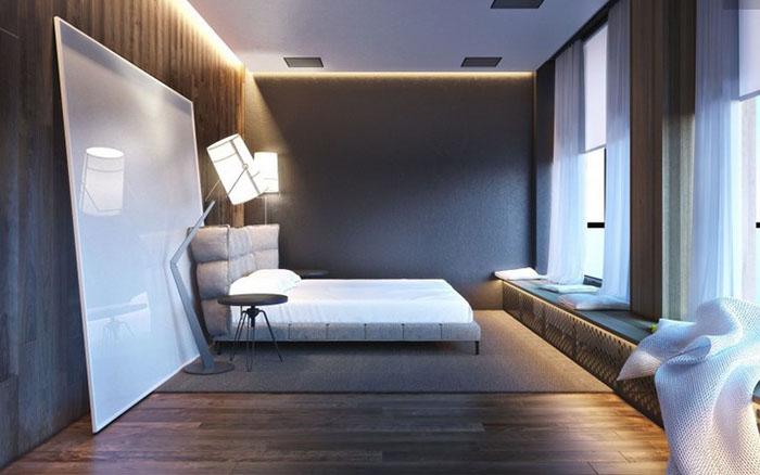 Интерьер спальни от Игоря Ситникова