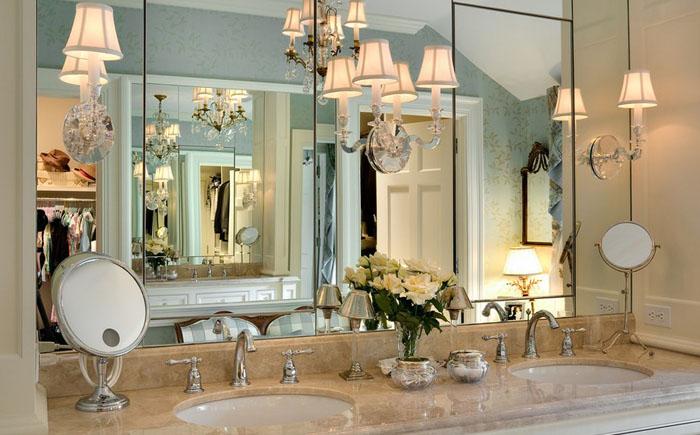 Интерьер ванной от Crisp Architects