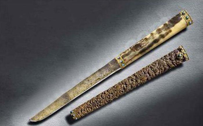 Императорский охотничий нож эпохи Цяньлун