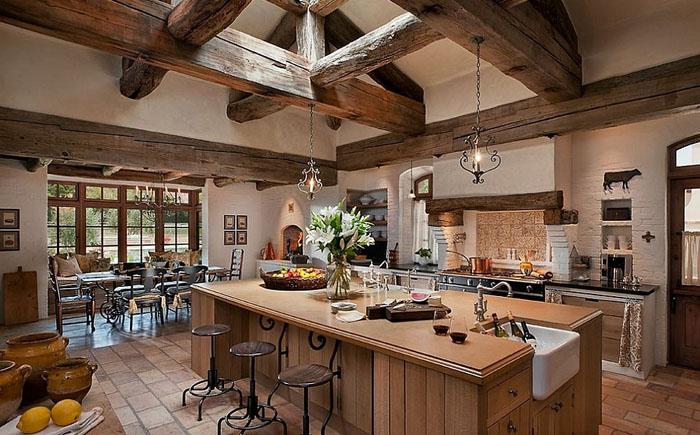 Интерьер кухни от Calvis Wyant Luxury Homes