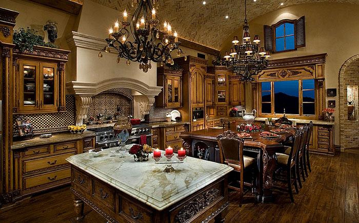 Роскошные люстры в интерьере от Fratantoni Luxury Estates