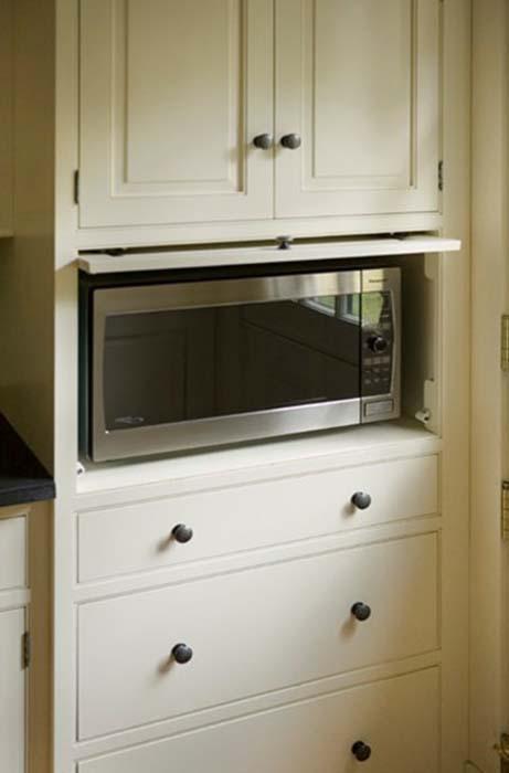 Шкаф для микроволновки