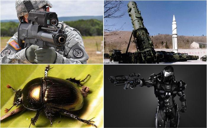 10 разработок фантастического военного оружия будущего