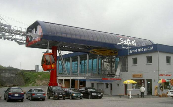 Ресторан Stuckli Sky Dining, Заттель, Швейцария