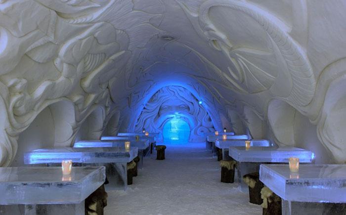 Ресторан Snow Castle, Кеми, Финляндия