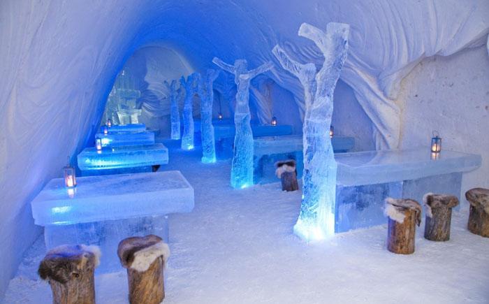 Ресторан Snow Castle (Снежный дворец), Кеми, Финляндия