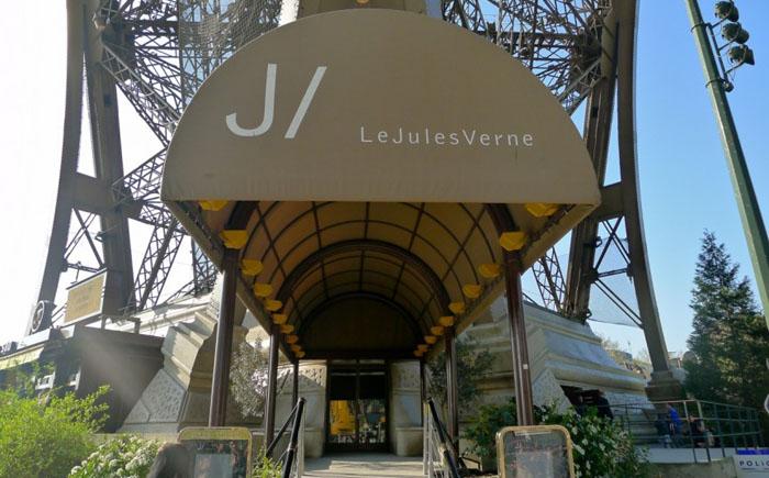 Ресторан Le Jules Vernes, Париж