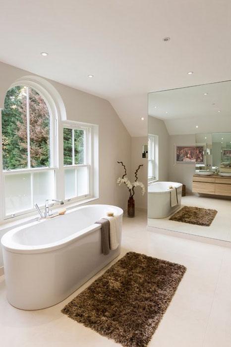 Интерьер ванной в традиционном стиле