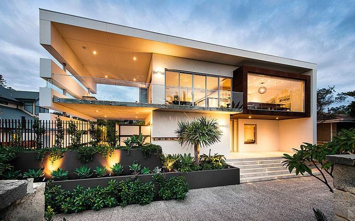 Фото дизайна прямоугольных домов