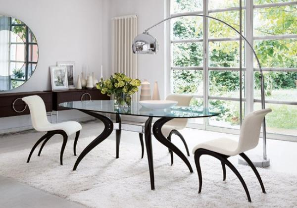 Элегантный интерьер в минималистском винтажном стиле